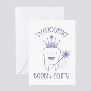 Welcome Tooth Fairy Greeting Cards