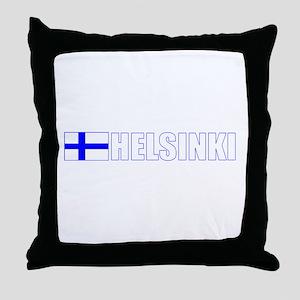 Helsinki, Finland Throw Pillow