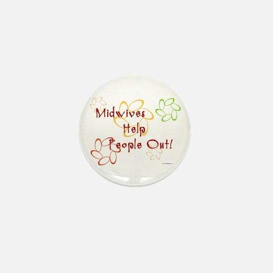Midwives Mini Button