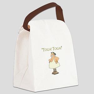 Toga! Toga! Canvas Lunch Bag