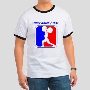Custom Weightlifting League Logo T-Shirt