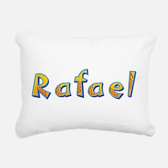 Rafael Giraffe Rectangular Canvas Pillow