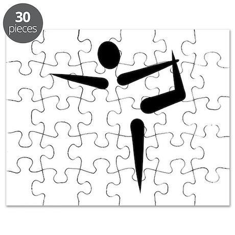 Yoga Gymnastics logo Puzzle