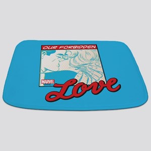 Marvel Forbidden Love Bathmat