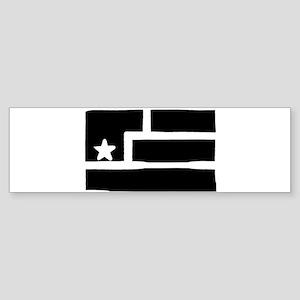 Resistance Flag Bumper Sticker