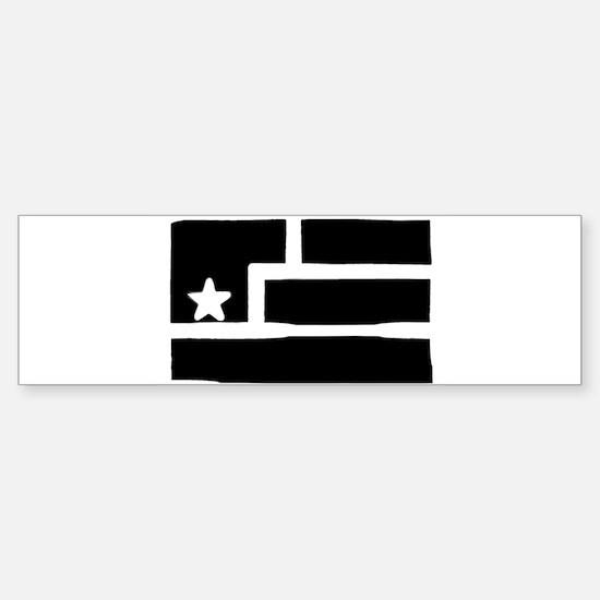 Resistance Flag Bumper Bumper Bumper Sticker