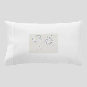 Rain and tea Pillow Case