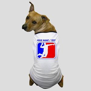 Custom Volleyball League Logo Dog T-Shirt