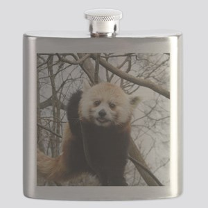 Funny Red Panda Flask