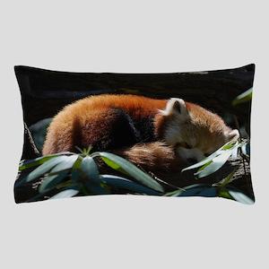 Sleeping Red Panda Pillow Case