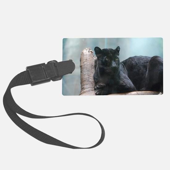 Black Panther Luggage Tag