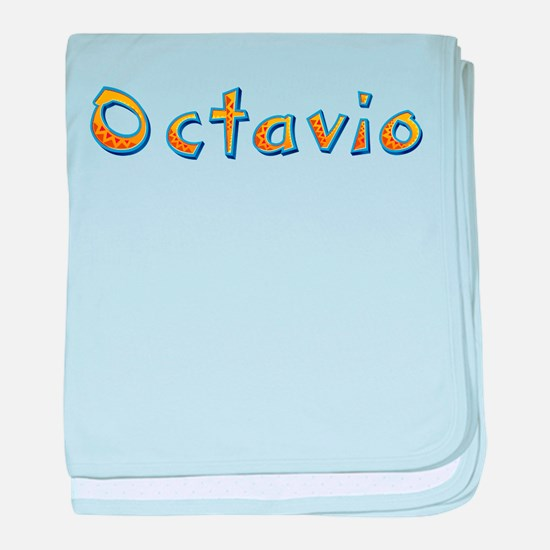 Octavio Giraffe baby blanket