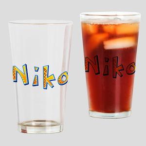 Niko Giraffe Drinking Glass