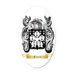 Florin Oval Car Magnet