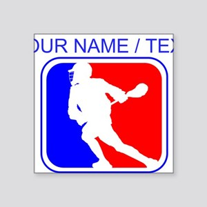 Custom Lacrosse League Logo Sticker