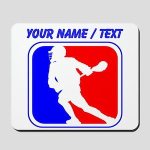 Custom Lacrosse League Logo Mousepad