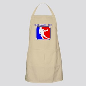 Custom Lacrosse League Logo Apron