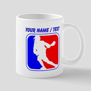 Custom Lacrosse League Logo Mugs