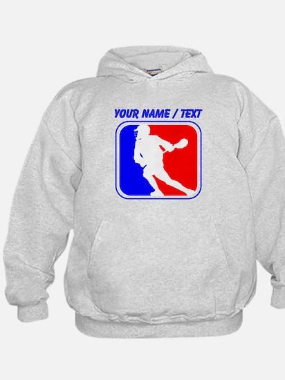 Custom Lacrosse League Logo Hoody
