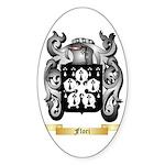 Flori Sticker (Oval 50 pk)