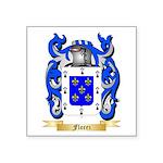 Florez Square Sticker 3
