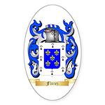 Florez Sticker (Oval)