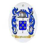 Florez Ornament (Oval)