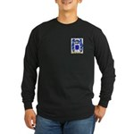 Flores Long Sleeve Dark T-Shirt