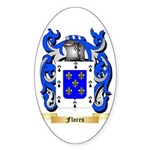 Flores Sticker (Oval 10 pk)