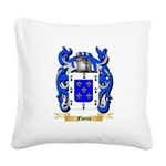 Flores Square Canvas Pillow