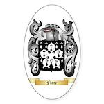 Flore Sticker (Oval 50 pk)