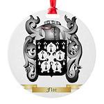 Flor Round Ornament