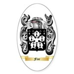 Flor Sticker (Oval)