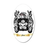 Flor 20x12 Oval Wall Decal