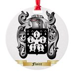 Floire Round Ornament