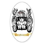 Floire Sticker (Oval)