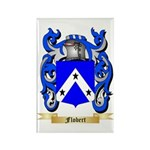 Flobert Rectangle Magnet (100 pack)