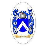 Flobert Sticker (Oval 50 pk)