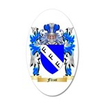 Flizot 20x12 Oval Wall Decal