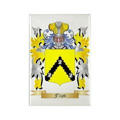 Flips Rectangle Magnet (100 pack)