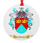Flint Round Ornament