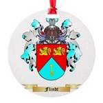 Flindt Round Ornament