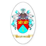 Flindt Sticker (Oval 50 pk)