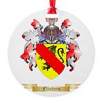 Flinders Round Ornament