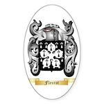 Fleurot Sticker (Oval 50 pk)