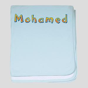 Mohamed Giraffe baby blanket