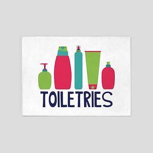 Toiletries 5'x7'Area Rug