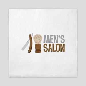 Mens Salon Queen Duvet