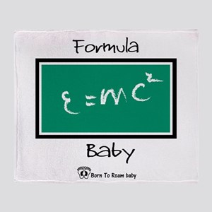 Formula Baby Throw Blanket