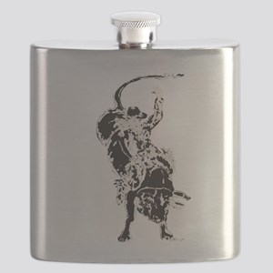 Bull Rider 2 Flask